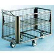 Wet and dry laundry trolley